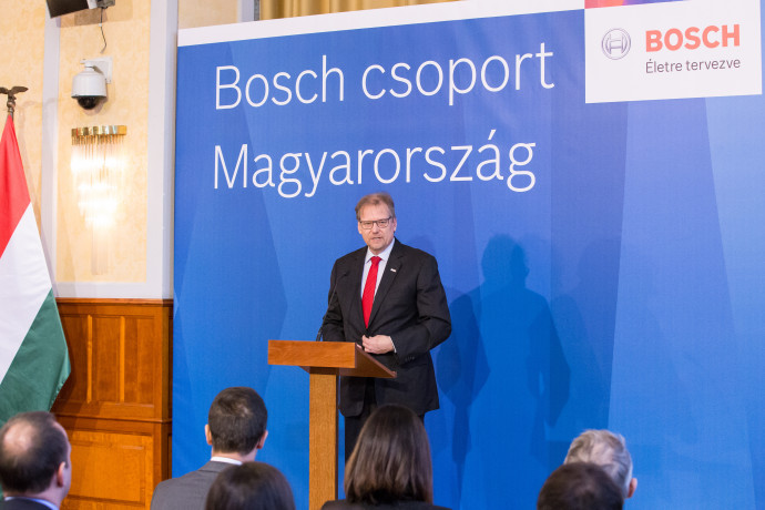 Daniel Korioth, Representative of Bosch Group in Hungary