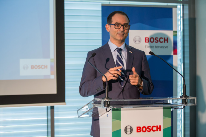 Javier González Pareja, representative of the Bosch Group in Hungary