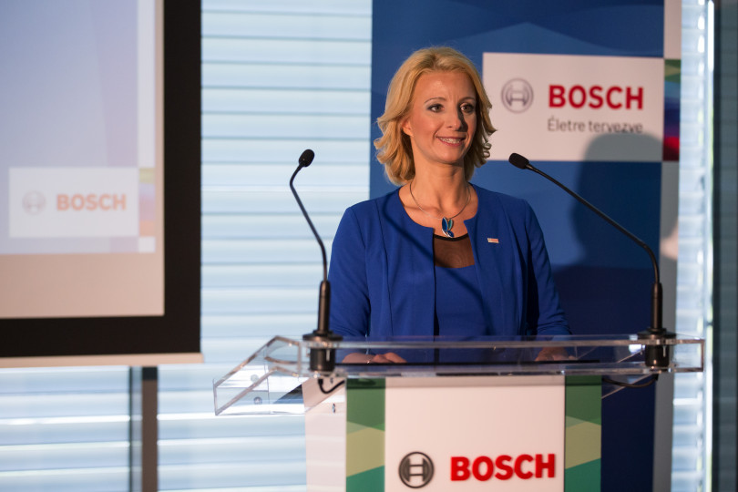 Krisztina Torma, Financial and administration director of Robert Bosch Kft