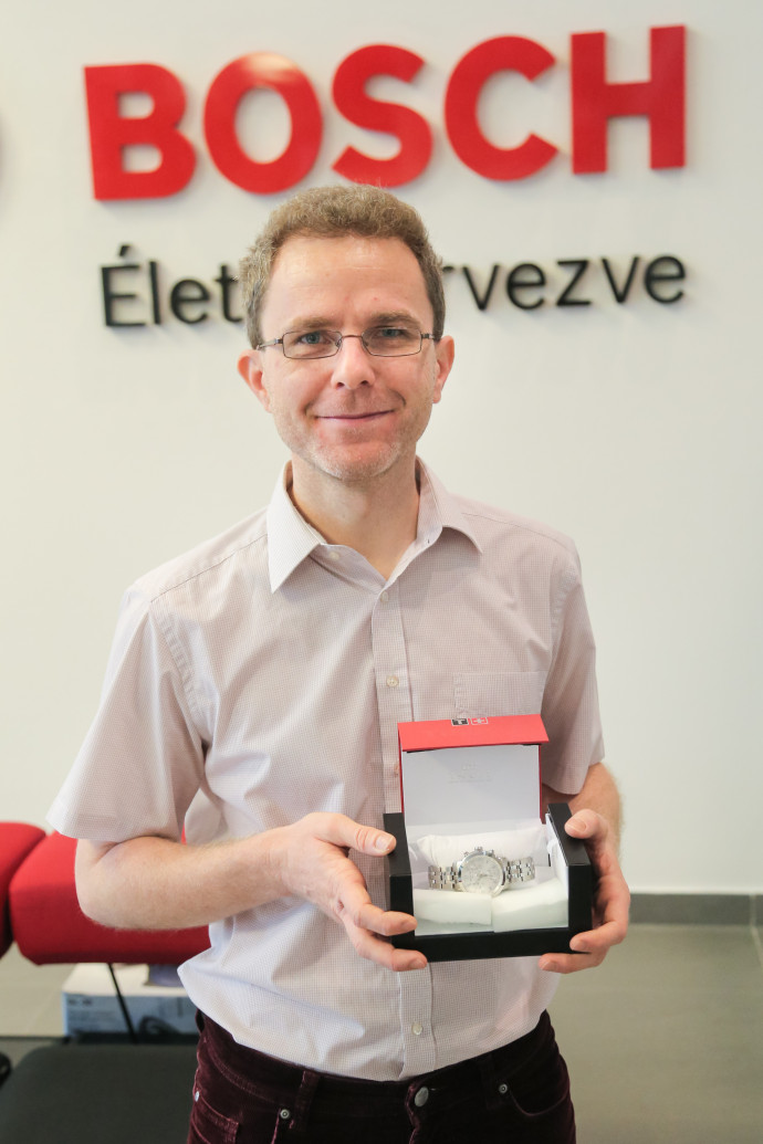 1700th Bosch engineer arrives just a few weeks after 1600th