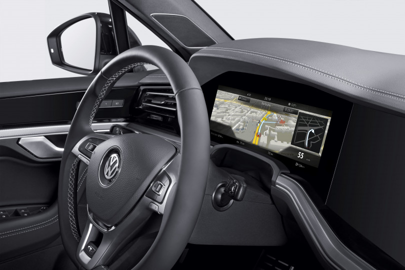 Bosch gets the world's first curved instrument cluster on the road