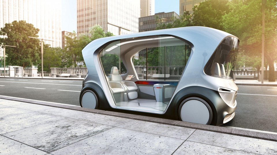 Bosch presents tomorrow's mobility today