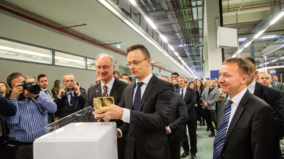 Bosch's automotive plant in Miskolc starts the year with big numbers