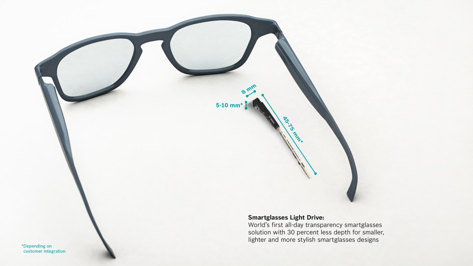More than meets the eye: Bosch enables the next generation of smartglasses