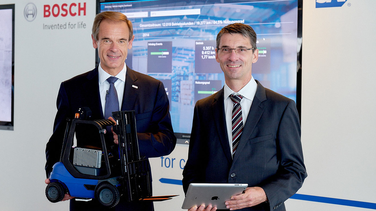 Industry 4.0: Bosch and SAP combine expertise