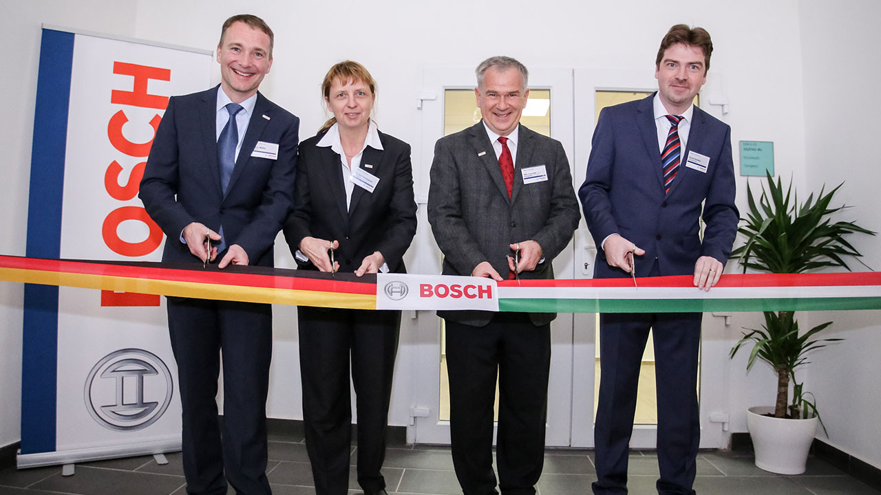 Bosch opens development center in Miskolc