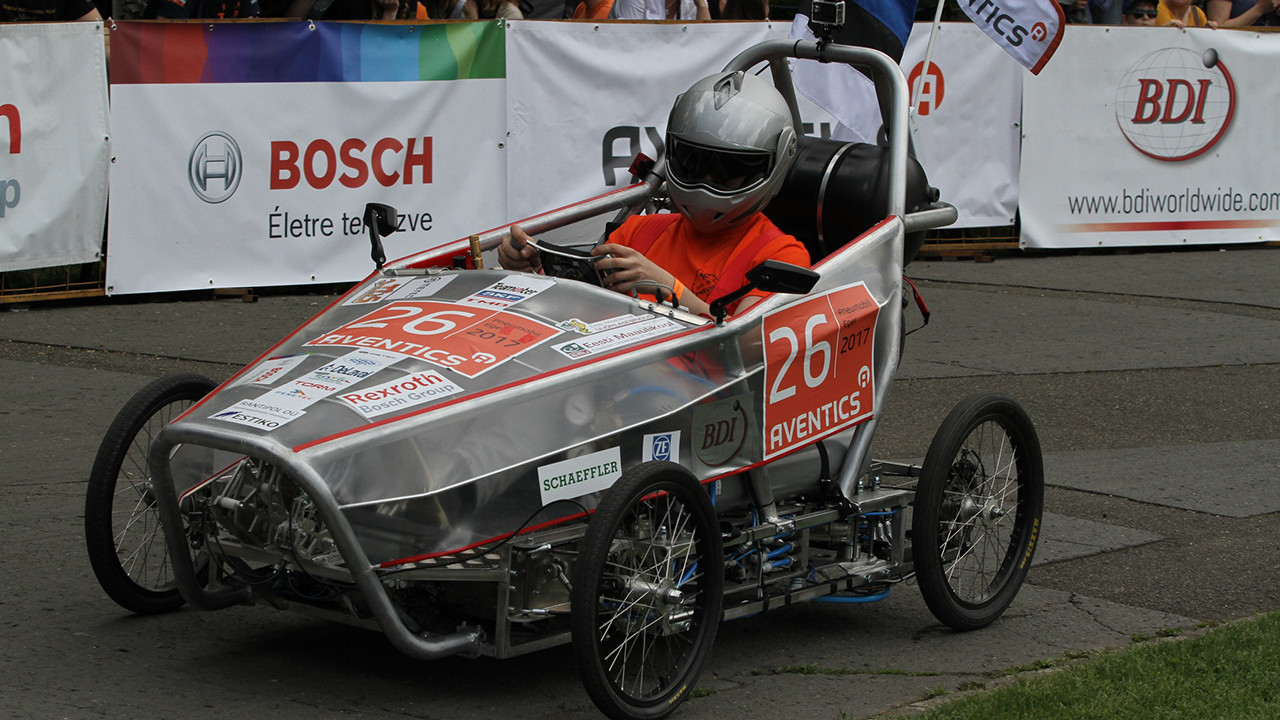 X. Aventics International Pneumobile Competition anniversary in Eger